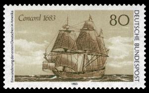Segelschiff Concord