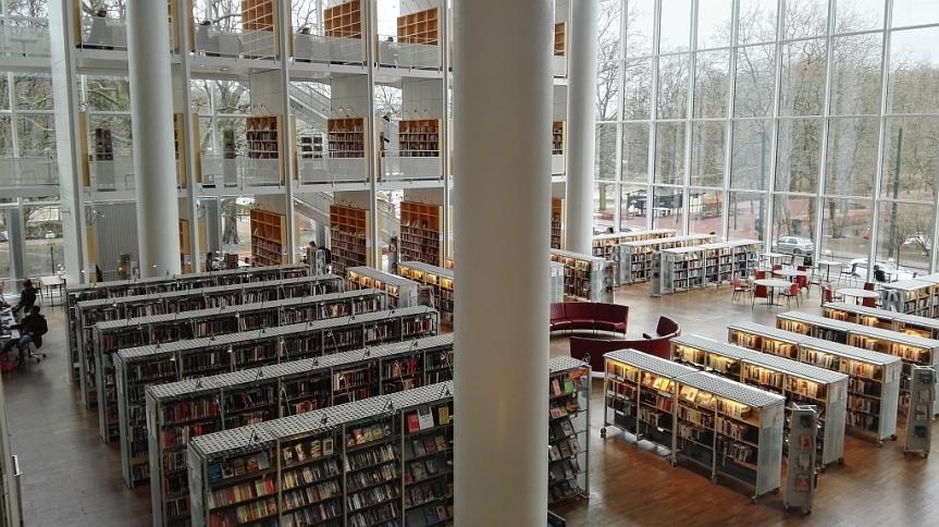 Zu Besuch in der StadtbibliothekMalmö
