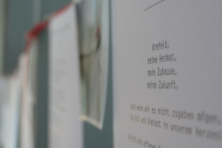 Liebeserklärungen an Krefeld – Gedichte aus der RealschuleHorkesgath