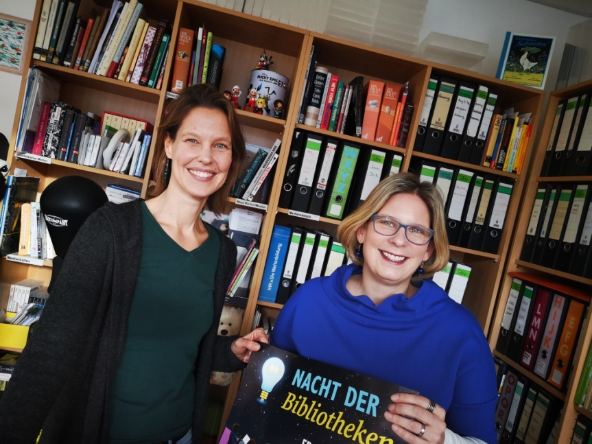 Feinschliff am Programm – Die Nacht der Bibliotheken2019