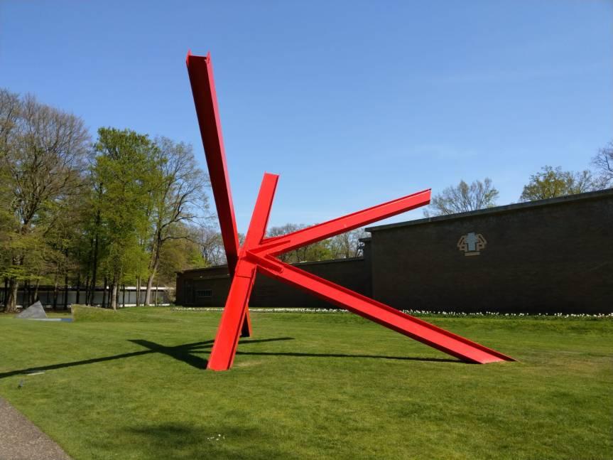 Ein sommerlicher Frühlingsausflug zum Kröller-Müllermuseum in Otterloo beiArnheim