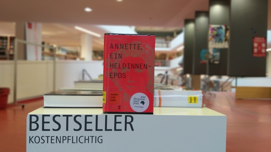 TietzelsTipp: Annette, ein Heldinnenepos von AnneWeber