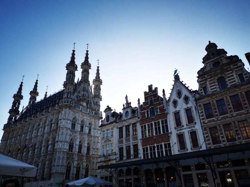 Krefeld-Köln-Leuven-Brüssel – auf Umwegen zumZiel
